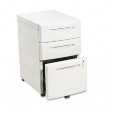 Aspira Mobile Underdesk Pedestal File, Resin, Box/box/file Drawer, Platinum