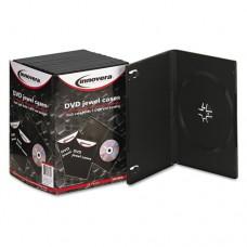 Standard Dvd Case, Black, 10/pack