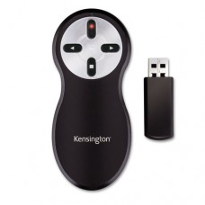 Wireless Presenter With Red Laser Pointer, Class 2, Black/silver