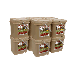 600 Serving Meat Package Includes: 10 Freeze Dried Meat Buckets