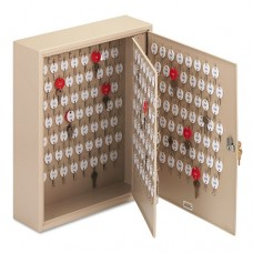 Locking Two-Tag Cabinet, 240-Key, Welded Steel, Sand, 16 1/2 X 4 7/8 X 20 1/8