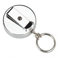 Pull Key Reel Wearable Key Organizer, Stainless Steel