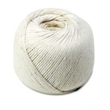 White Cotton 10-Ply (medium) String In Ball, 475 Feet