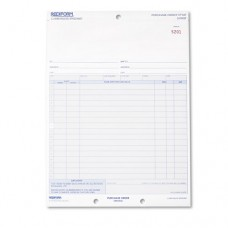 Purchase Order, 8 1/2 X 11, Three-Part Carbonless, 50 Forms