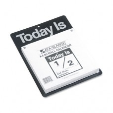 Today Is Wall Calendar, 9 3/8 X 12, White, 2017
