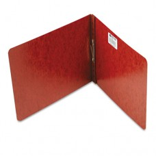 """Pressboard Report Cover, Prong Clip, Letter, 2"""" Capacity, Red"""