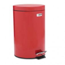 Medi-Can, Round, Steel, 3.5gal, Red