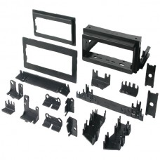 "In-Dash Installation Kit (GM(R) Universal 1982-2003 with Factory Brackets & Flat, .5"" & 1"" Trim Plates Single-DIN)"