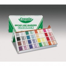 Classpack Marker 16 Colors 256 Ct