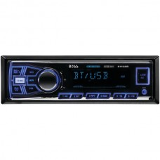 Single-DIN In-Dash Mechless AM/FM Receiver (With Bluetooth(R))