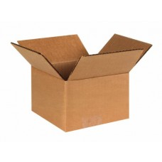 "4"" x 4"" x 3"" Corrugated Boxes"