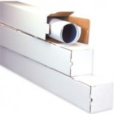 "4"" x 4"" x 25"" Square Mailing Tubes"