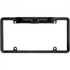 License Plate Camera with LED Lights (Black)