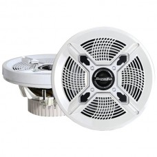 """Marine 2-Way Coaxial Speakers (6.5"""", White)"""