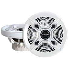 """Marine 2-Way Coaxial Speakers (8"""", White)"""