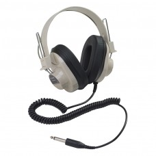 Monaural Headphone 5 Coiled Cord 50-12000 Hz