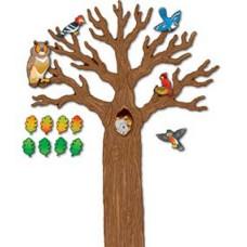 Big Tree W/Animals Bb Sets Gr K-5