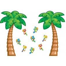 Tropical Trees Bb Set