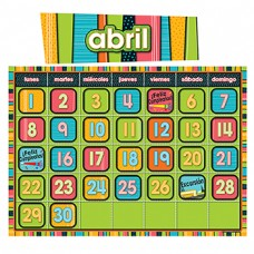 Stylin Stripes Spanish Calendar