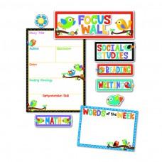 Boho Birds Focus Wall Bb Set