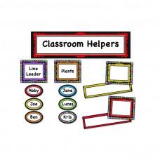 Colorful Chalkboard Classroom Management Bb Set