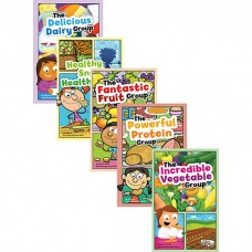Myplate And Healthy Eating Book Set