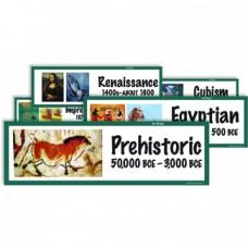Art Styles Display Cards