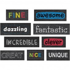 Chalkboard Reward Phrases Stickers