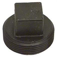 ABS PLUG 1-1/2 THRED