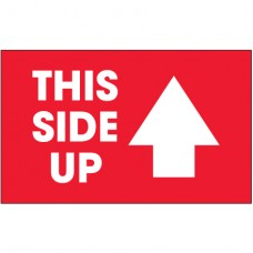 """3"""" x 5"""" - """"This Side Up"""" Arrow Labels"""