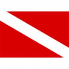 "24"" X 36"" Nyl Skin Diver O/D Flag"