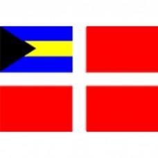 "12"" X 18"" Nyl Bahamas Merchant O/D Flag"