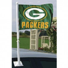 "11"" x 13"" POLY GB PACKERS AUTO FLAG"