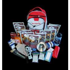 2 Week Essential Survival Backpack 16 lbs 20x10x10 (RED)