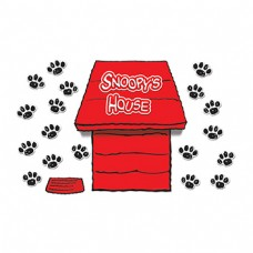 Giant Peanuts Dimensional Dog House