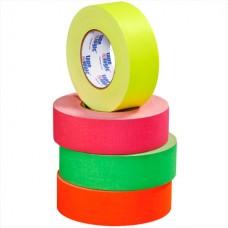 """2"""" x 50 yds. Fluorescent Green 11 Mil Gaffers Tape"""