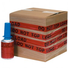 """5"""" x 80 Gauge x 500' """"DO NOT TOP LOAD"""" Goodwrappers® Identi-Wrap"""