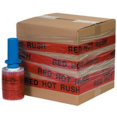 """5"""" x 80 Gauge x 500' """"RED HOT RUSH"""" Goodwrappers® Identi-Wrap"""