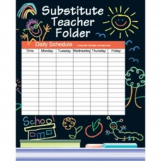Substitute Folder Elem Kid 24-Pk
