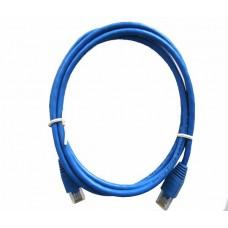 Blue VCOM NP511-100-BLUE 100ft Cat5e UTP Molded Patch Cable