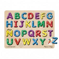 Spanish Alphabet Sound Puzzle 27Pcs