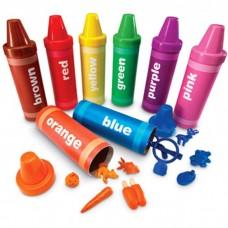 Rainbow Sorting Crayon