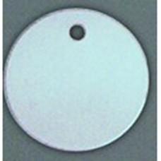 Blank Circle Aluminum Tags