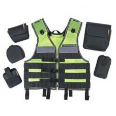 Arsenal 5590 Industrial MOLLE Vest Miners Set  Lime One Size