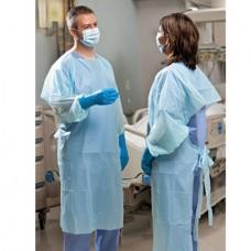SafetyPlusPolyethylene Gown Light Blue Universal