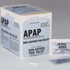 Apap Commissary Pack 325mg