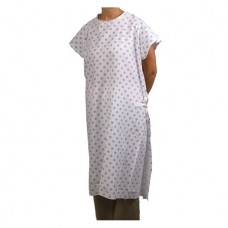 Cloth Exam Gowns Tape/Ties Print Adult