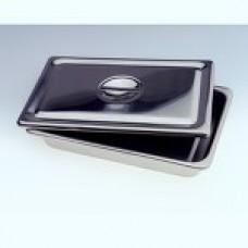 Stainless Steel Instrument Trays Flat 19 x 12 1/2 x 5/8