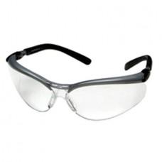 BX Reader Safety Glasses BX, Silver/Black Frame, Clear AF Lens