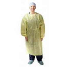 Isolation Gown Yellow One Size